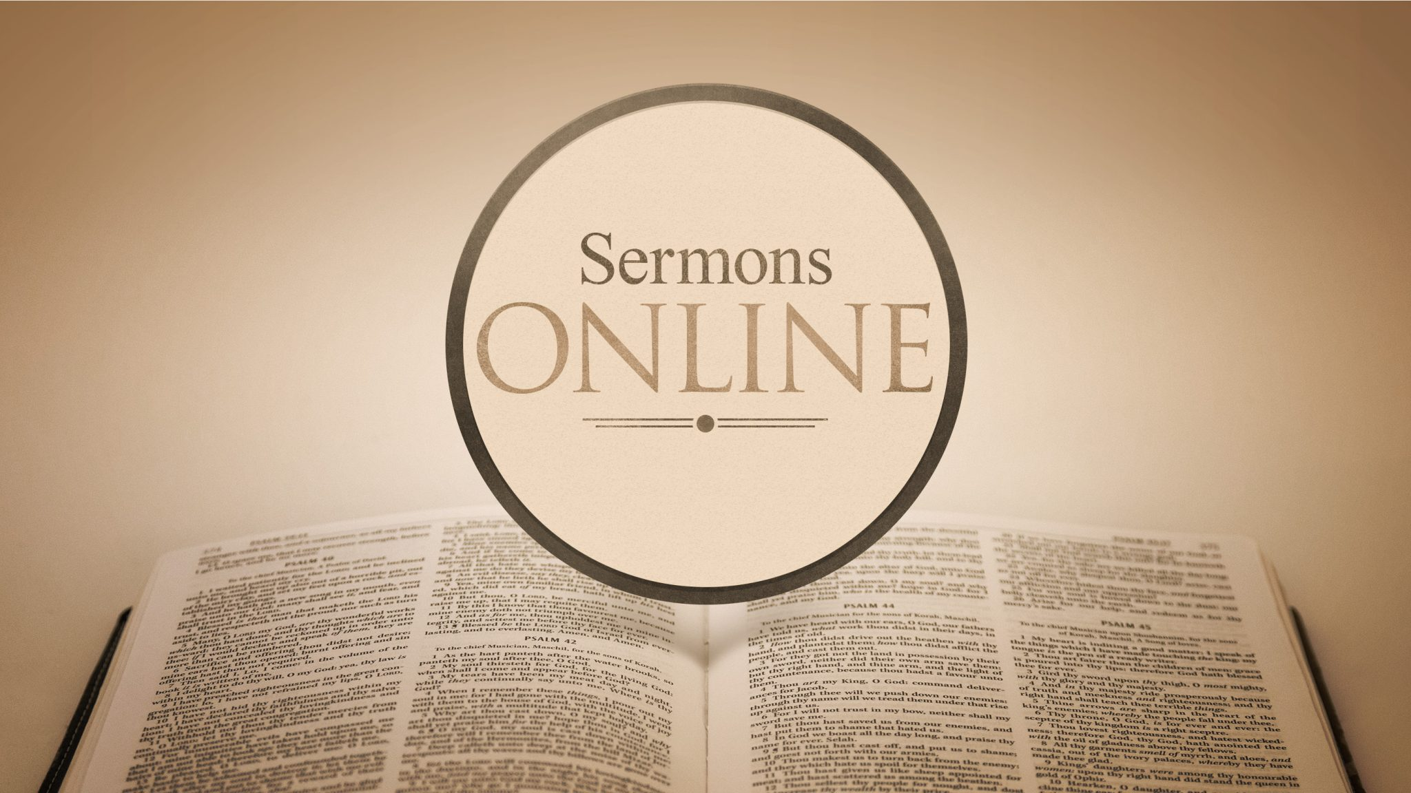 Andy's Sermons Online