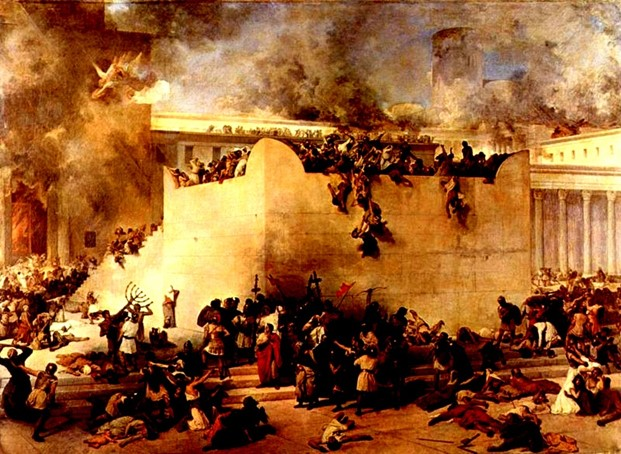 The Destruction of the Temple, the Gospel Age, The Great Tribulation
