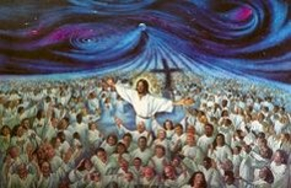 The 144,000 in Heaven Worshiping God