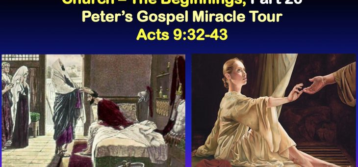 Peter's Gospel Miracle Tour