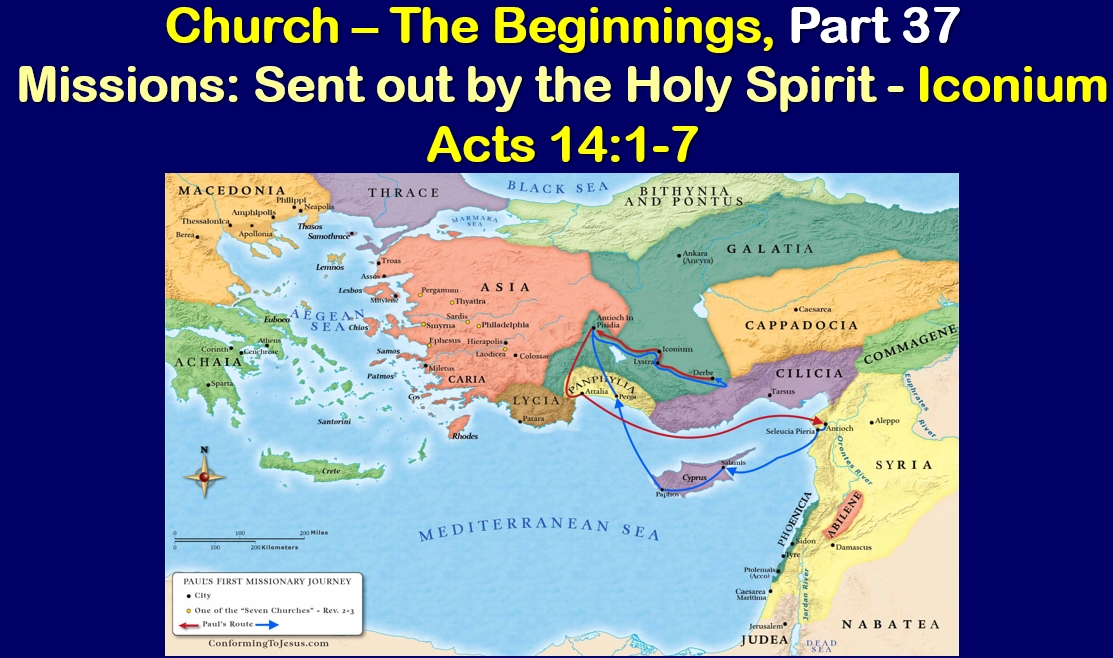 Missions: Sent out by the Holy Spirit - Iconium