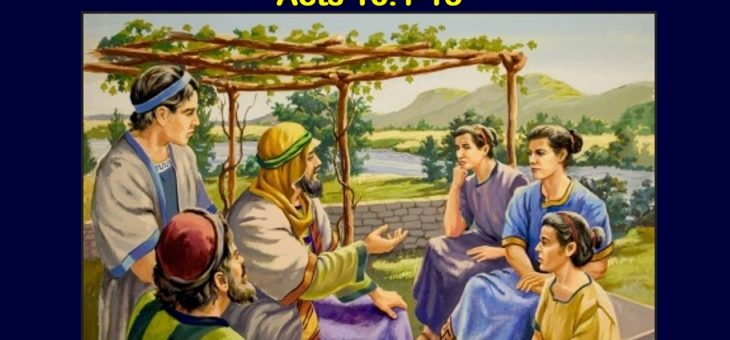 Paul, Silas, Timothy and their European Mission