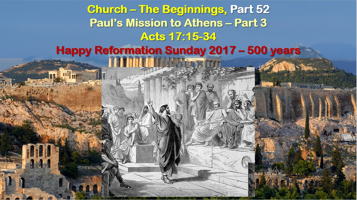 Paul's Mission to Athens – Part 3