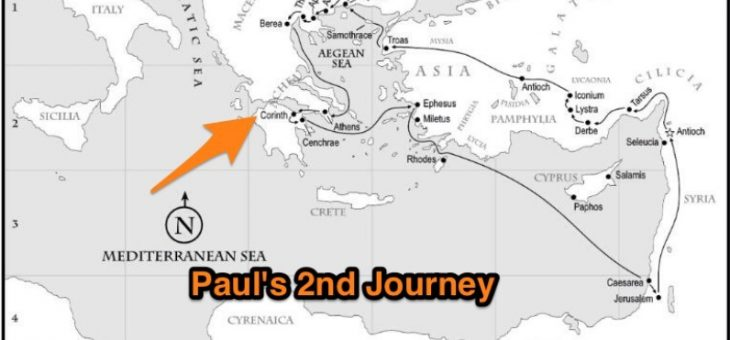 Paul's Church Planting Adventure in Corinth – Part 1