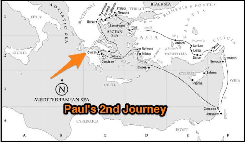Paul's Church Planting Adventure in Corinth - Part 1
