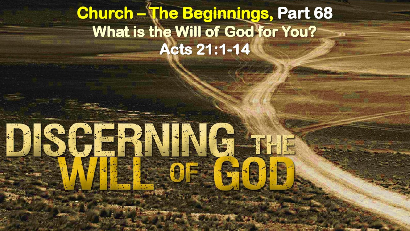 What is the Will of God for You?
