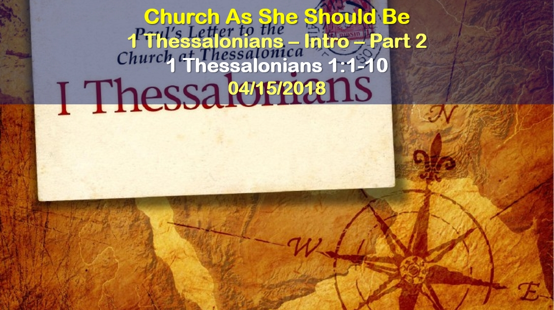 Church As She Should Be - Part 2