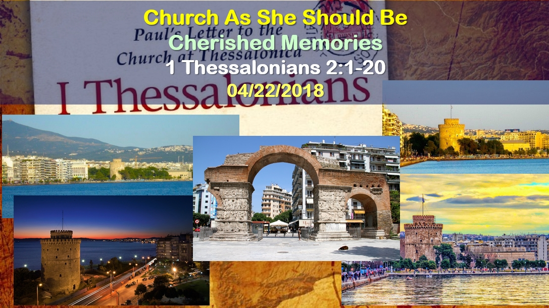 Church As She Should Be   Cherished Memories
