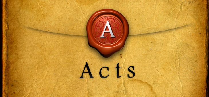 The Book of Acts – Closing Review Overview