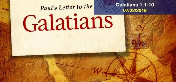 Galatians: Paul's Opening Greetings