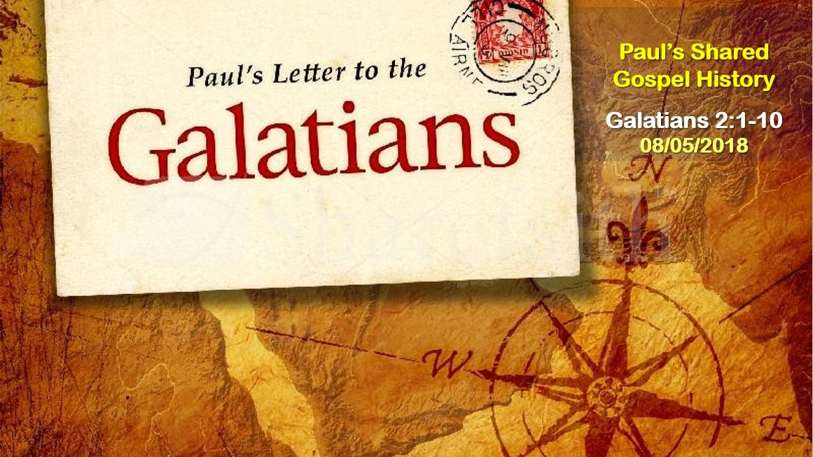 Paul's Shared Gospel History