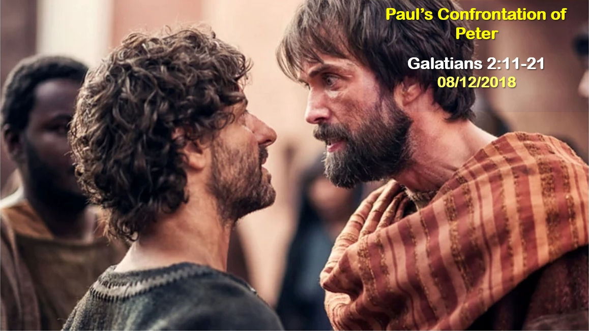 Paul's Confrontation of Peter