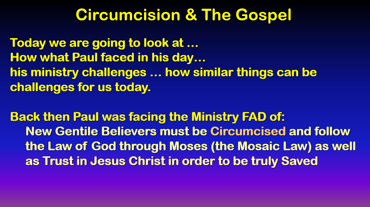 Circumcision and the Gospel: A Second Look at Romans 4:9-15